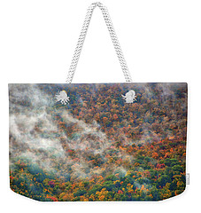 Weekender Tote Bag featuring the photograph The Shoulder Of Greylock by Raymond Salani III