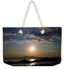 the Sky above Us Weekender Tote Bag