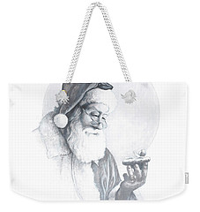 The Spirit Of Christmas Vignette Weekender Tote Bag