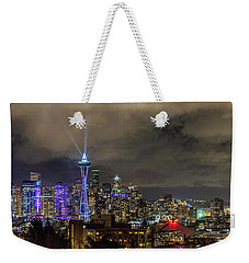 The Star Of Seattle Weekender Tote Bag