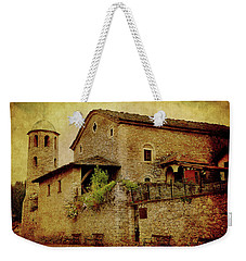 The Stone Church Weekender Tote Bag