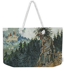 Weekender Tote Bag featuring the photograph The Story Of The Six Princesses by Ivar Arosenius
