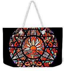 the Sun is Aflame Weekender Tote Bag