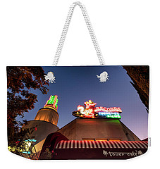 Weekender Tote Bag featuring the photograph The Tower- by JD Mims