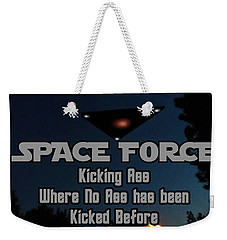 The United States . Space Force Weekender Tote Bag