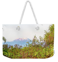 Weekender Tote Bag featuring the photograph The Venerable Mt Kilimanjaro by Kay Brewer