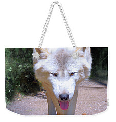 The White Wolf Weekender Tote Bag