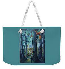 The World Between The Trees Weekender Tote Bag