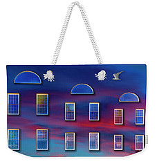 Weekender Tote Bag featuring the photograph The Wormhole by Paul Wear