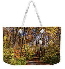 The Yellow Road Weekender Tote Bag