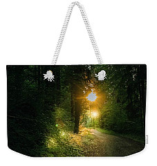 There Is Always A Light Weekender Tote Bag