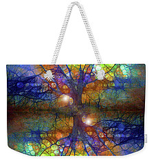 There Is Light Even In These Dark Roots Weekender Tote Bag