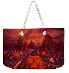 Weekender Tote Bag featuring the photograph This Is Halloween by Phil Koch