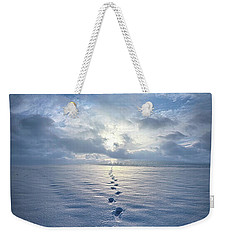 Weekender Tote Bag featuring the photograph This Is When I Carried You by Phil Koch