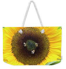 Three Bees Weekender Tote Bag