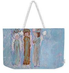 Three Friendly Angels Weekender Tote Bag