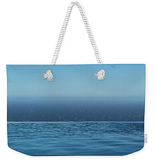 Three Layers Of Blue Weekender Tote Bag