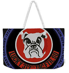 The 313th Tactical Fighter Squadron Weekender Tote Bag