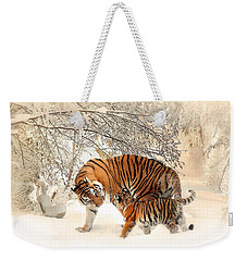 Tiger Family Weekender Tote Bag