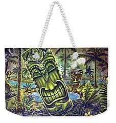 Tiki Genie's Sacred Pools Weekender Tote Bag