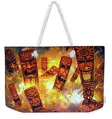Tiki Hot Spot Weekender Tote Bag