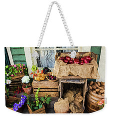 Weekender Tote Bag featuring the photograph Time Of Harvest - Hope Valley Art by Jordan Blackstone
