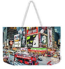 Times Square II Special Edition Weekender Tote Bag