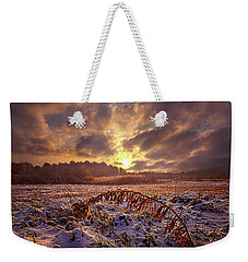 Weekender Tote Bag featuring the photograph Times They Changed by Phil Koch
