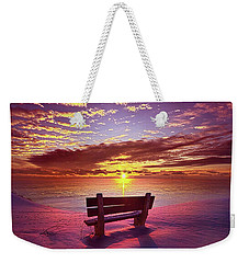 Weekender Tote Bag featuring the photograph To Belong To Oneself by Phil Koch