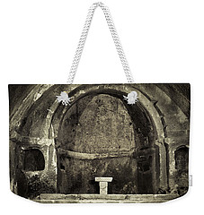 Tomb And Altar In The Monastery Of San Pedro De Rocas Weekender Tote Bag