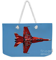 Weekender Tote Bag featuring the photograph Top Down by Brad Allen Fine Art