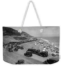 Topanga State Beach 1920 Weekender Tote Bag