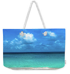 Topical Beach View Anguilla Weekender Tote Bag