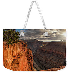 Weekender Tote Bag featuring the photograph Toroweap Sunrise by Leland D Howard