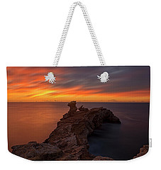 Total Calm At A Sunrise In Ibiza Weekender Tote Bag