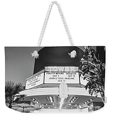 Weekender Tote Bag featuring the photograph Tower In Silence- by JD Mims
