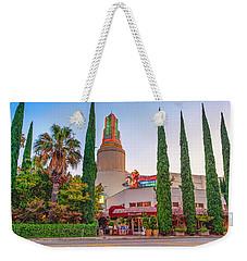 Tower Cafe Sunset- Weekender Tote Bag