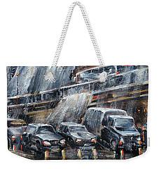Traffic Weekender Tote Bag