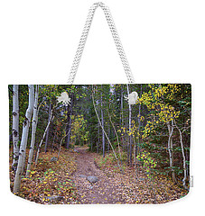 Weekender Tote Bag featuring the photograph Trailhead by James BO Insogna