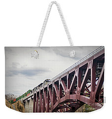 Train Over Letchworth Weekender Tote Bag