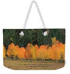 Tree Line Weekender Tote Bag