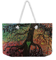 Tree Of Life Chakra Tree Weekender Tote Bag