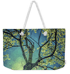Weekender Tote Bag featuring the photograph Tree Tops 0945 by Donald Brown