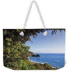 Trees And Ocean Weekender Tote Bag