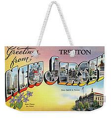 Trenton Greetings Weekender Tote Bag