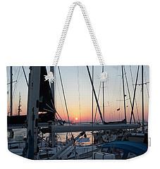 Trieste Sunset Weekender Tote Bag