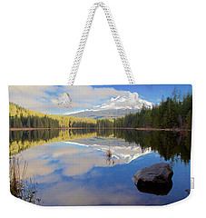Trillium Lake Morning Reflections Weekender Tote Bag