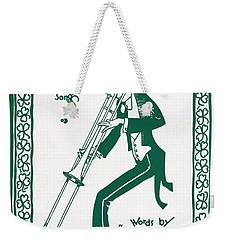Trombone Blues 1920 Weekender Tote Bag