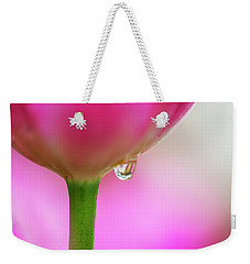 Tulip Drop Weekender Tote Bag