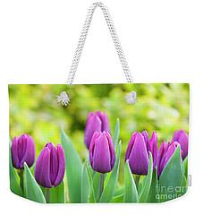 Tulip Purple Prince Flowers Weekender Tote Bag